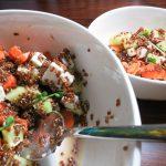 Frühlings Quinoa Salat