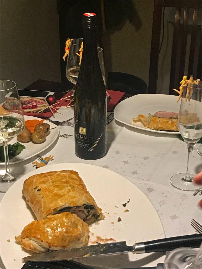 Blogger Dinner Falsches Beef Wellington