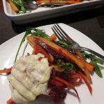 Warmer Wurzelgemüse Salat