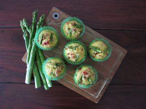 Spargel Muffin
