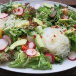 Asiatischer Reisnudel Salat